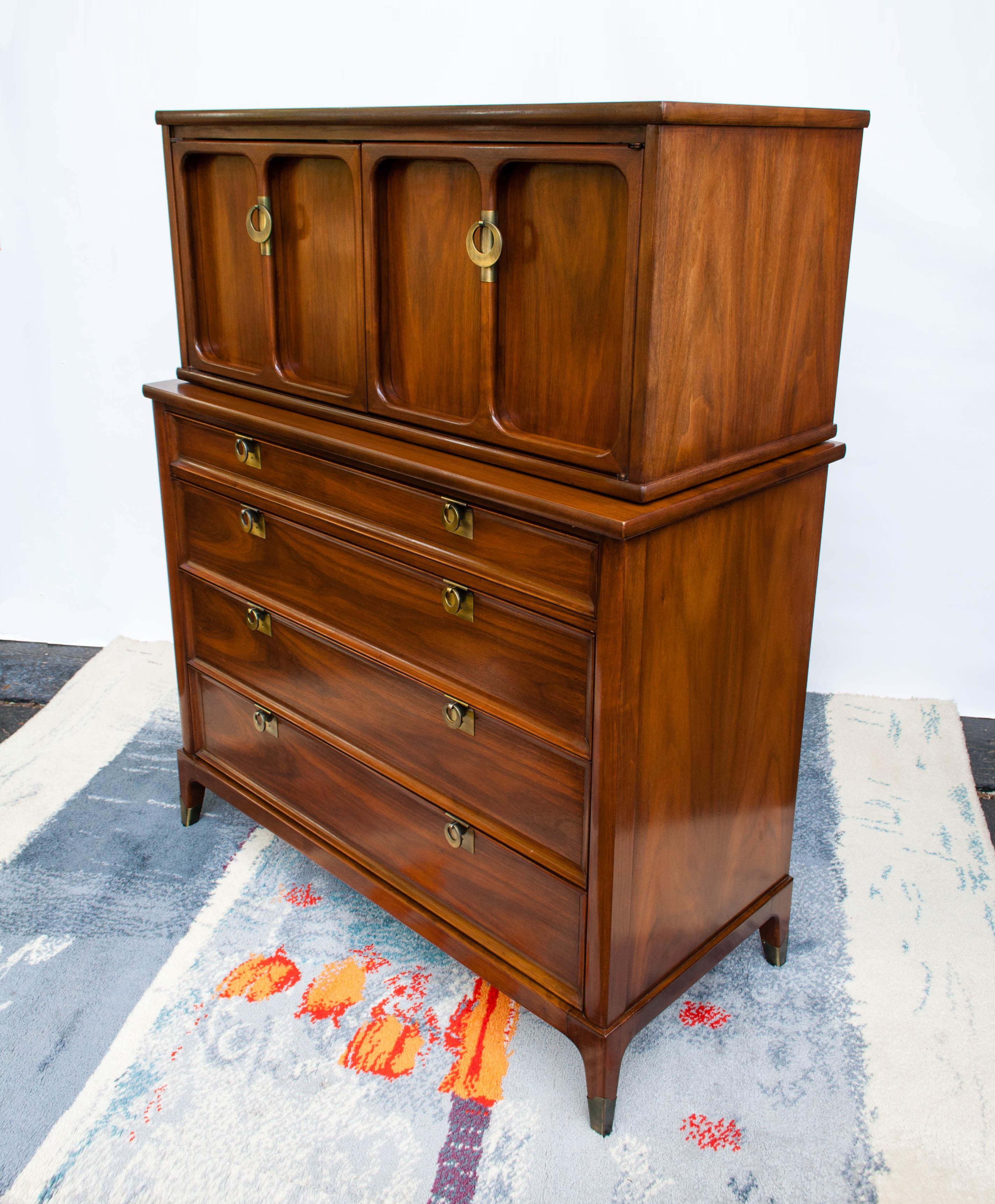 Walnut Dresser By White Fine Furniture
