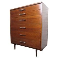 Mid-Century Walnut Dresser