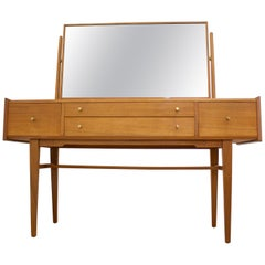 Midcentury Walnut Dressing Table from a. Younger Ltd., 1960s