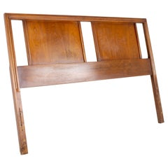 Mid Century Walnut Full Headboard
