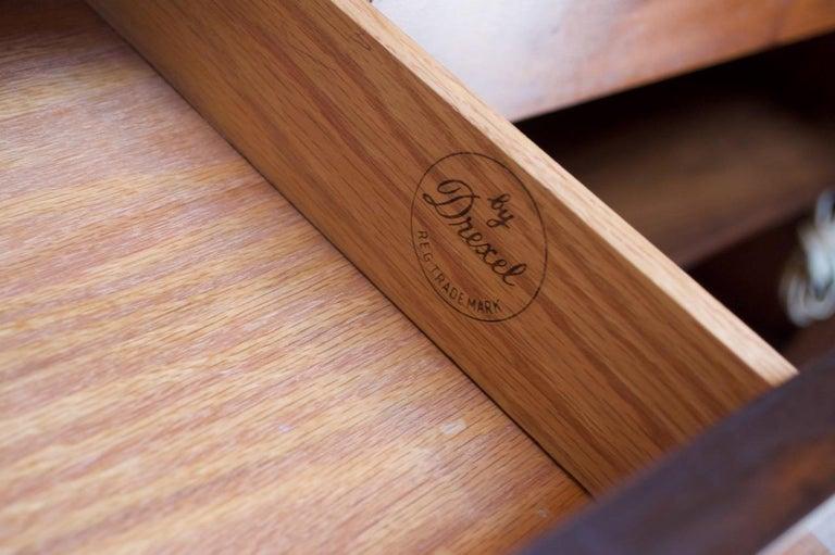 Midcentury Walnut Illuminated Credenza by Kipp Stewart for Drexel Declaration For Sale 13
