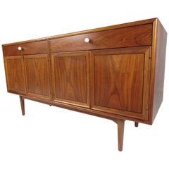 Midcentury Walnut Sideboard by Kip Stewart for Drexel