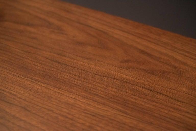 Mid Century Walnut Triple Dresser For Sale 3