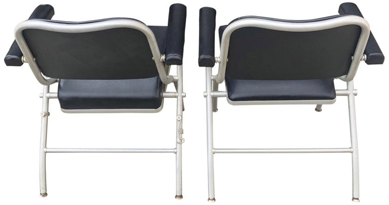 Midcentury Warren McArthur Chairs In Good Condition For Sale In BROOKLYN, NY