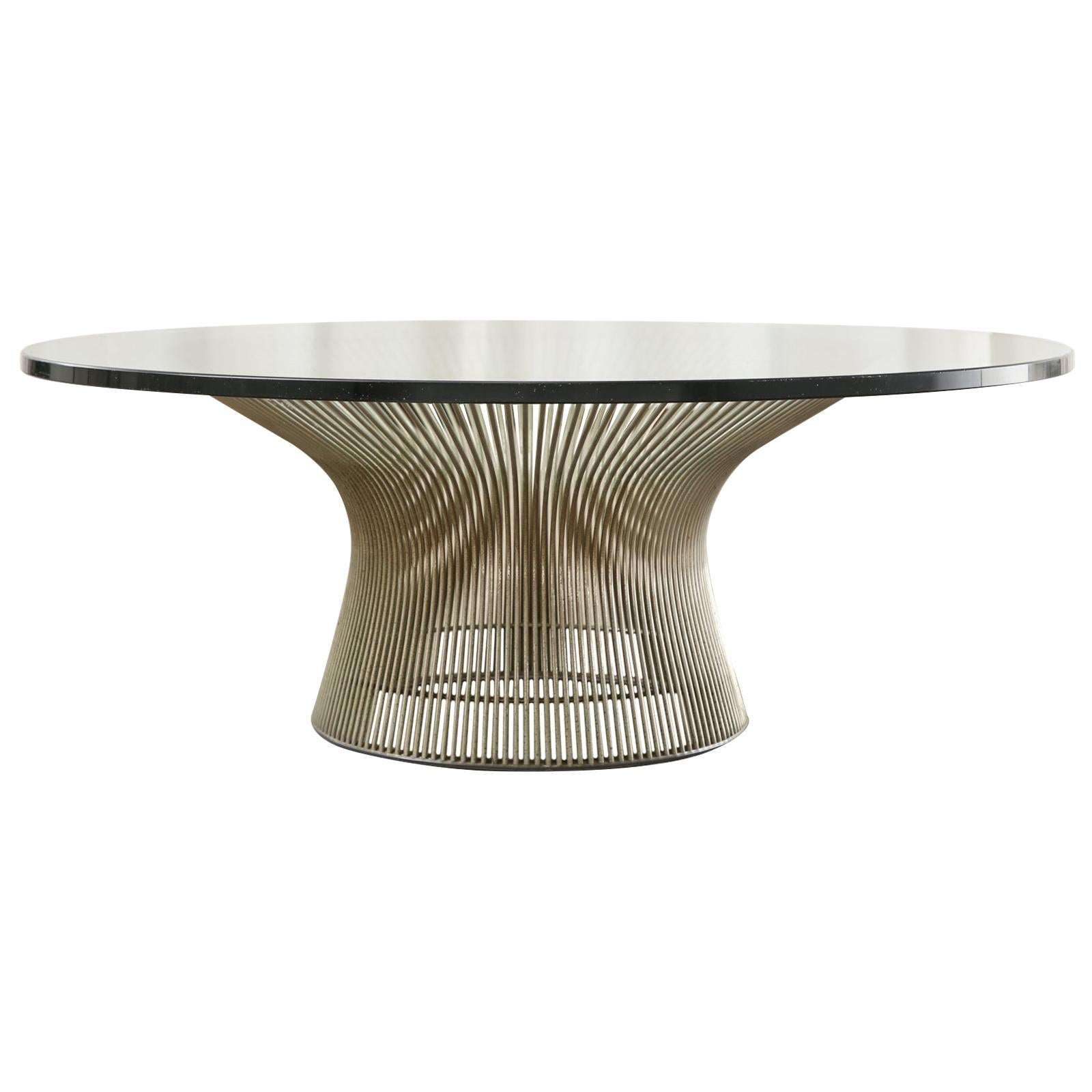 Mid-Century Warren Platner for Knoll Cocktail Table