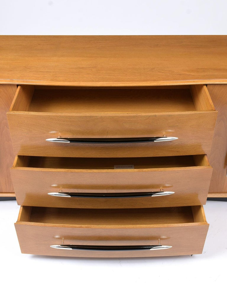 Hand-Crafted Midcentury Widdicomb Chest of Drawers by T.H. Robsjohn-Gibbings