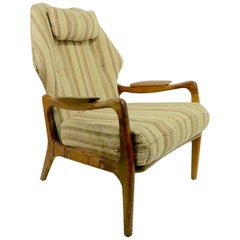 Mid Century Wing Chair by Adrian Pearsall