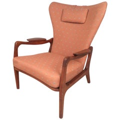 Midcentury Wingback Lounge Chair by Adrian Pearsall