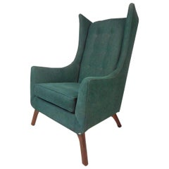 Midcentury Wingback Lounge Chair
