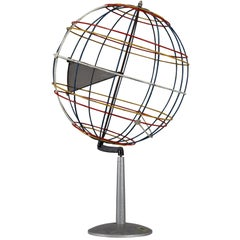 Mid-Century Wire Globe Made in Germany, 1950s