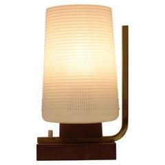 Mid-Century Wood Table Lamp,1950s