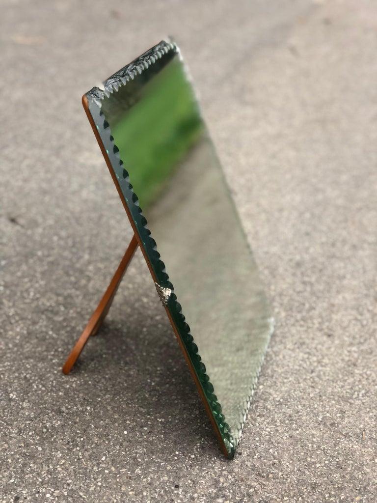 Midcentury vanity mirror , Italy.