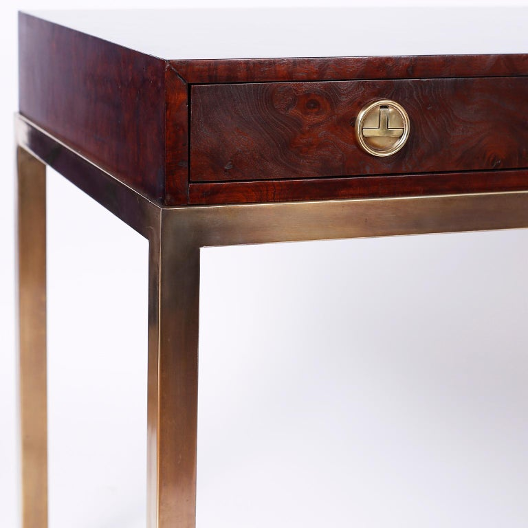 20th Century Midcentury Writing Table or Desk by Mastercraft For Sale