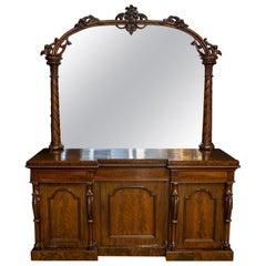 Mid Victorian Mahogany Sideboard