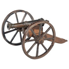 Mid-Victorian Model of a Field Cannon