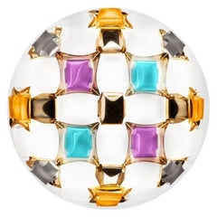 Mida Colorful Ceiling Wall Lamp, Made in Italy