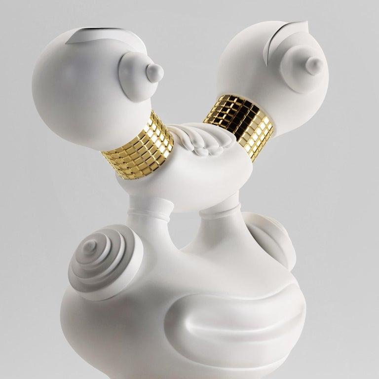 Italian Midas Sculpture Vase by Matteo Cibic For Sale