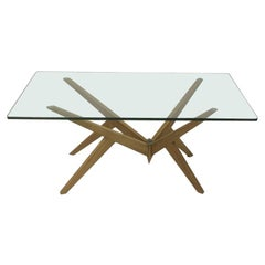 Midcentury 1950s Italian Angular Coffee Table
