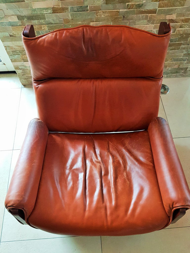 Midcentury 1960s 'Canada' Chair Borsani for Tecno For Sale 2