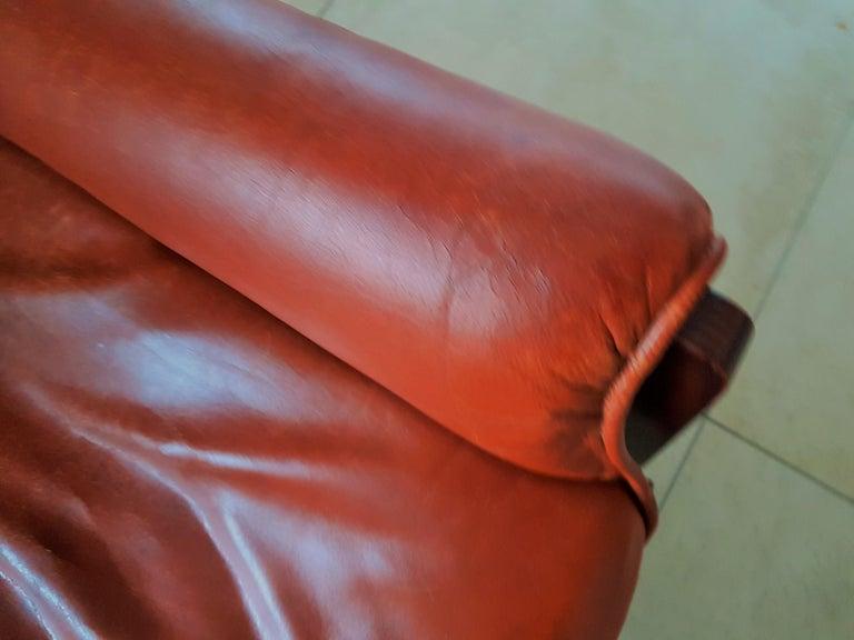 Midcentury 1960s 'Canada' Chair Borsani for Tecno For Sale 9