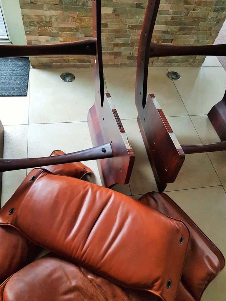 Midcentury 1960s 'Canada' Chair Borsani for Tecno For Sale 12