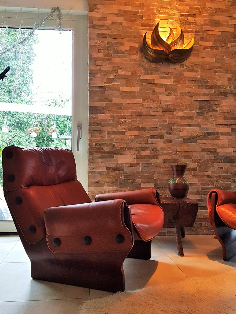Italian Midcentury 1960s 'Canada' Chair Borsani for Tecno For Sale