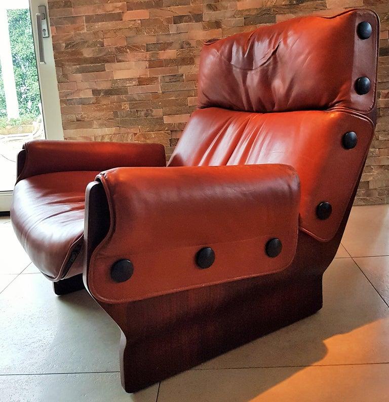 Midcentury 1960s 'Canada' Chair Borsani for Tecno In Good Condition For Sale In Saarbruecken, DE