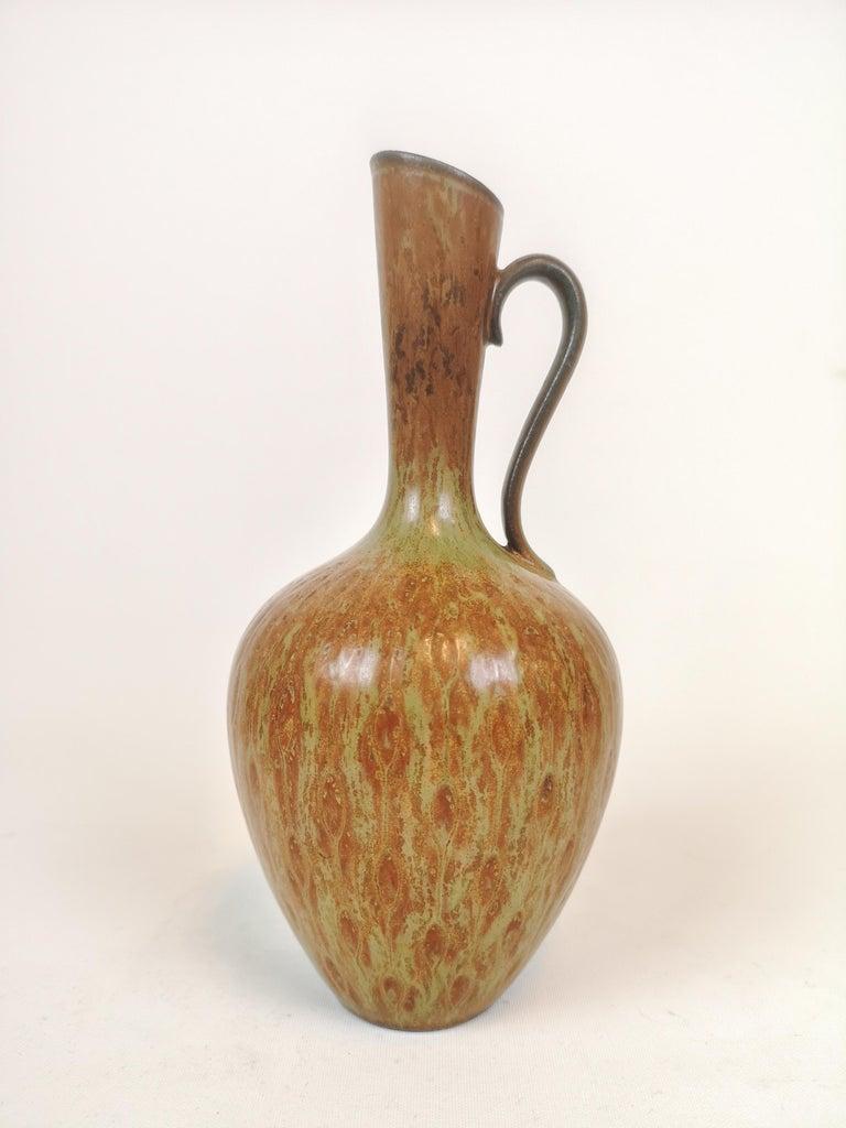 Mid-Century Modern Midcentury 3 Ceramic Pieces Rörstrand Gunnar Nylund, Sweden For Sale