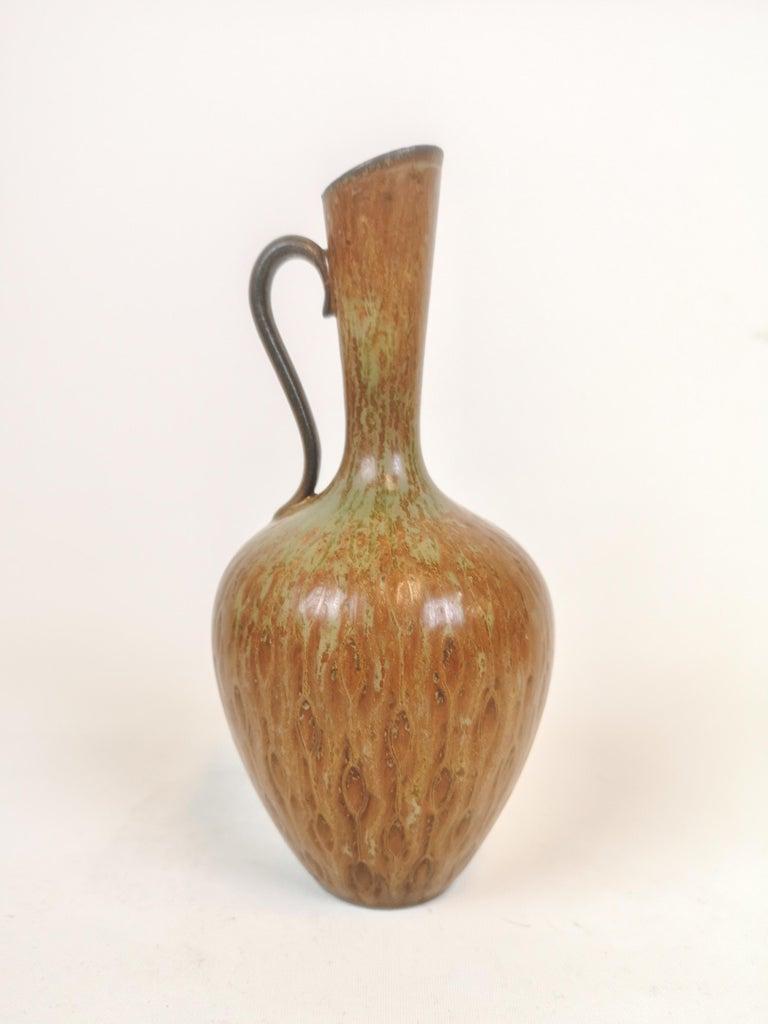Swedish Midcentury 3 Ceramic Pieces Rörstrand Gunnar Nylund, Sweden For Sale