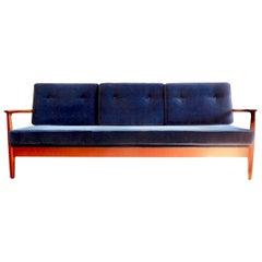 Midcentury 3-Seat Daybed by Eugen Schmidt, 1960s