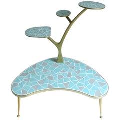 Stunning Midcentury Plant Stand Planter Table Shelf,  Stilnovo Gio Ponti Era