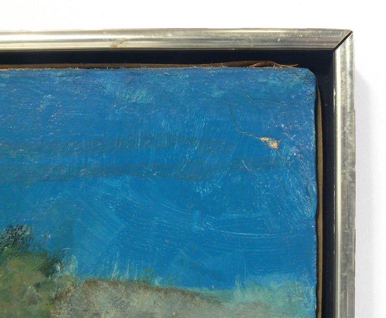 American Midcentury Abstract Painting For Sale