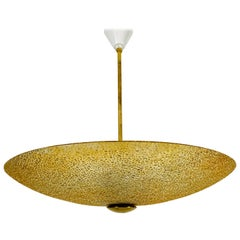 Midcentury Acrylic Glass Pendant Lamp Attributed to Boris Lacroix, 1960s