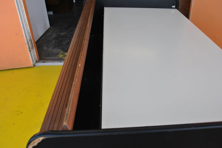 Midcentury Action Office Roll Top Desk George Nelson for H Miller In Good Condition For Sale In Pasadena, TX