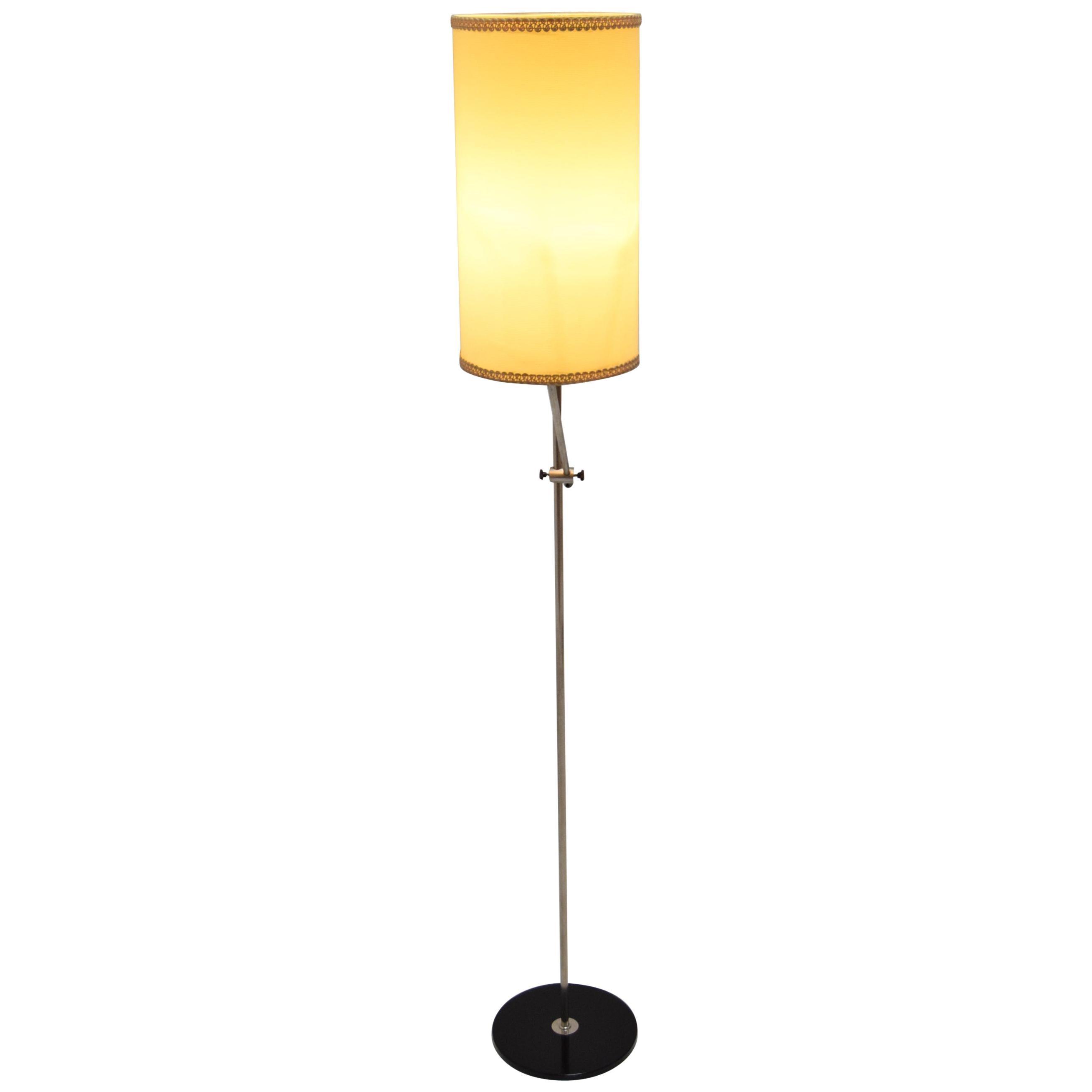 Midcentury Adjustable Floor Lamp by AKA Elektrik, 1970s
