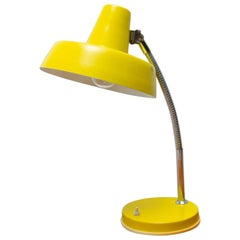Midcentury Adjustable Gooseneck Desk Lamp, 1950s