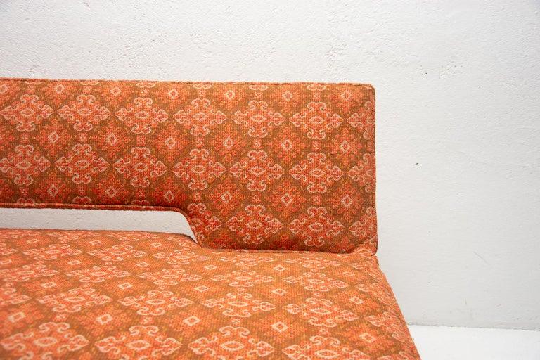 Midcentury adjustable sofa-bench by Miroslav Navrátil, 1960s, Czechoslovakia 2
