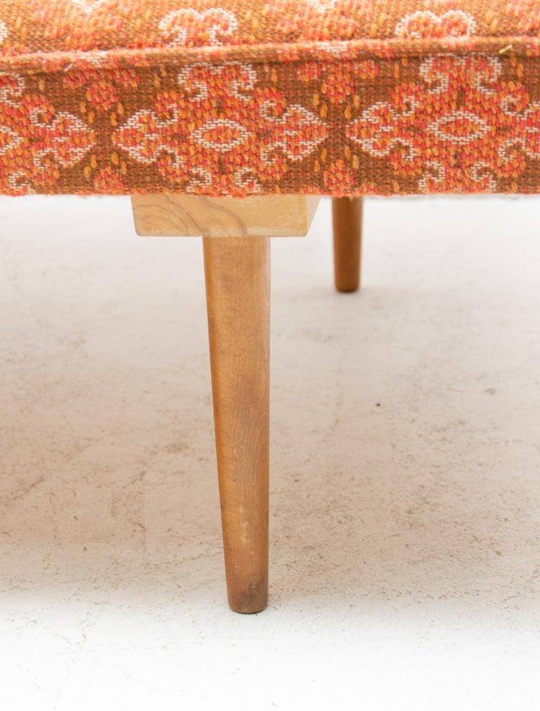 Midcentury adjustable sofa-bench by Miroslav Navrátil, 1960s, Czechoslovakia 3