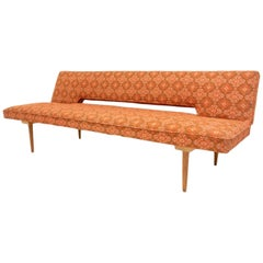 Midcentury Adjustable Sofa-Bench by Miroslav Navrátil, 1960s, Czechoslovakia