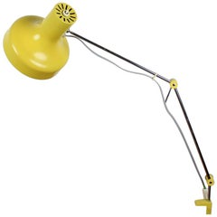 Midcentury Adjustable Table Lamp Designed by Josef Hůrka for Napako