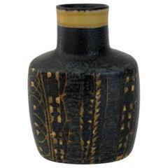 Midcentury Aluminia Danish Pottery Vase