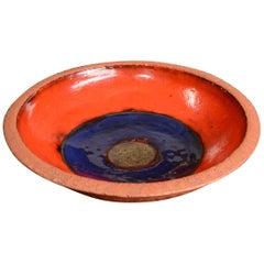 Midcentury Alvino Bagni for Raymor Italian Ceramic Centrepiece Bowl