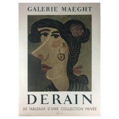 Midcentury Andre Derain Mourlot Art Poster