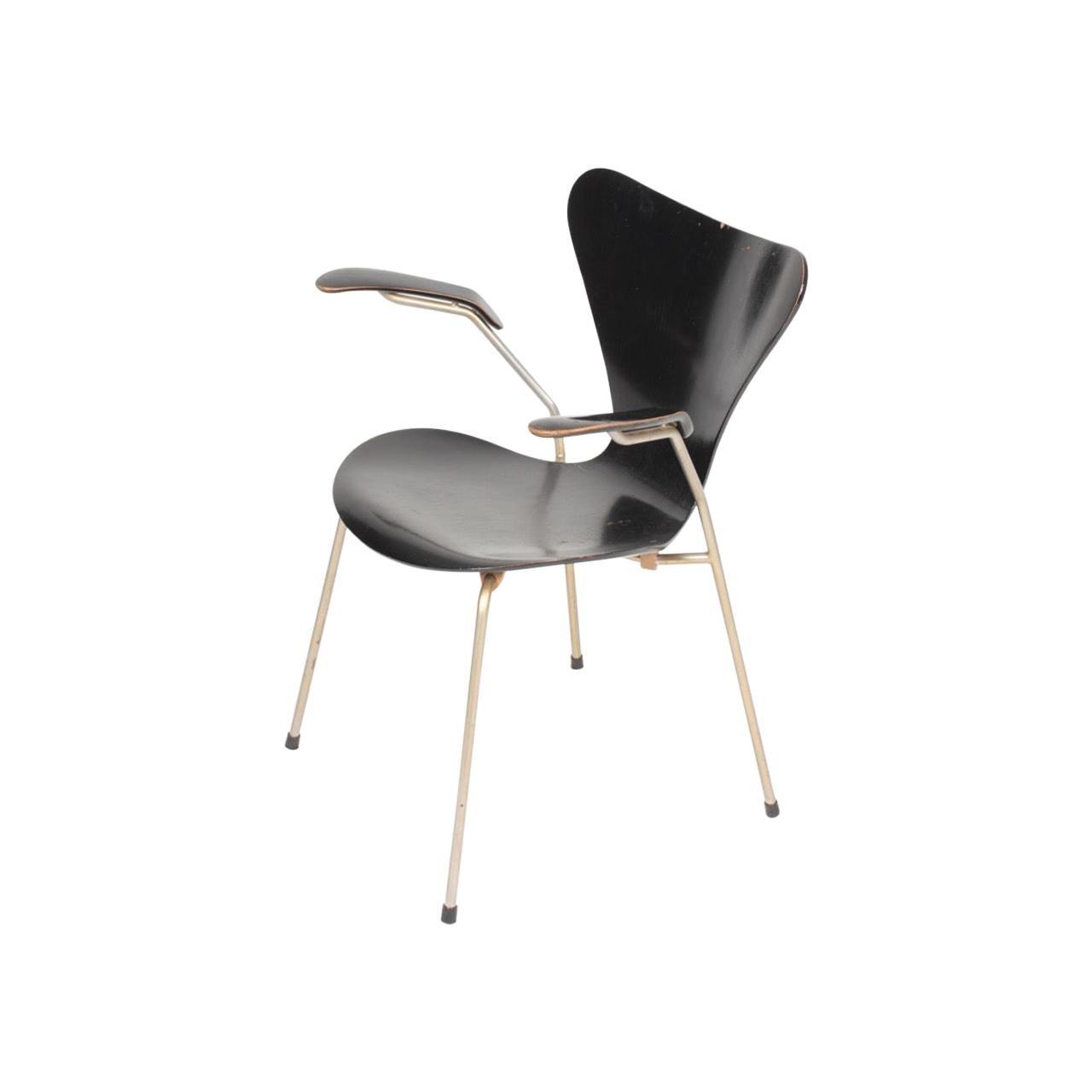 Midcentury Armchair by Arne Jacobsen, 1950s