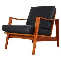 Midcentury Armchair by Arne Wahl Iversen, 1960s A. W. Iversen