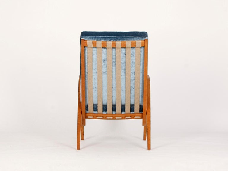 20th Century Midcentury Armchair from Krasna Jizba, 1950s For Sale
