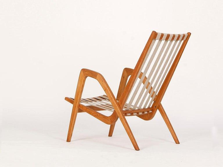 Midcentury Armchair from Krasna Jizba, 1950s For Sale 1