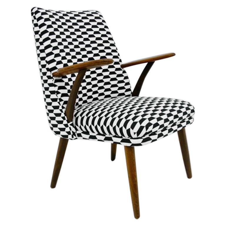 Midcentury Armchair Retro, Danish Design, 1960s