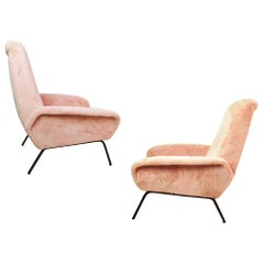 Midcentury Armchairs in the manner of Marco Zanuso