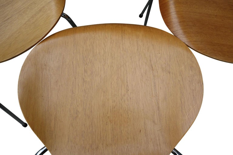 Midcentury Arne Jacobsen Series 7 Chairs For Sale 3